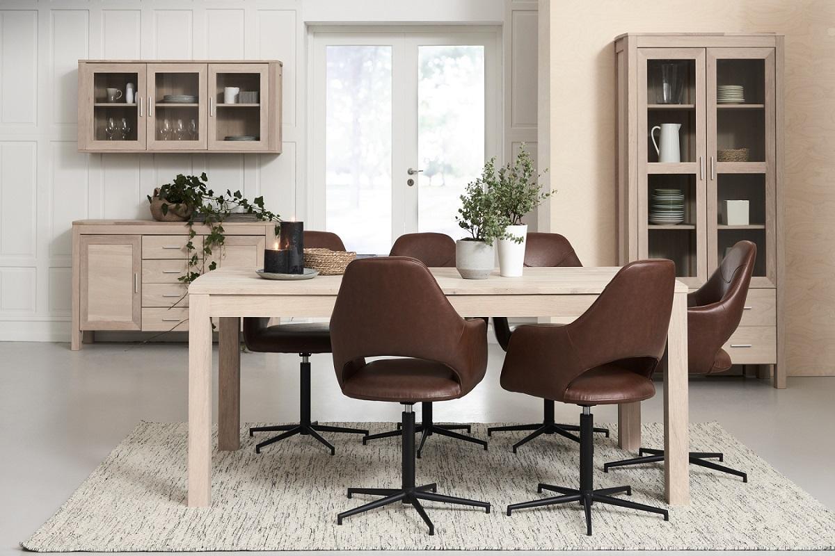 Moderní jídelní stůl rozkládací Aang, 180 - 280cm