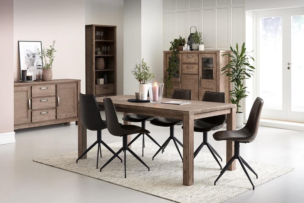 Moderní jídelní stůl rozkládací Aarav, 180 - 280 cm