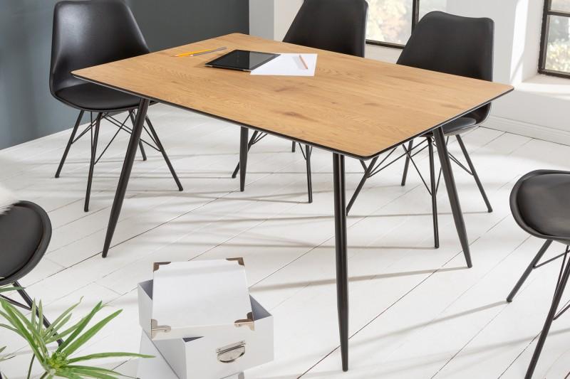 Designový jídelní stůl Nathalie 140 cm dub