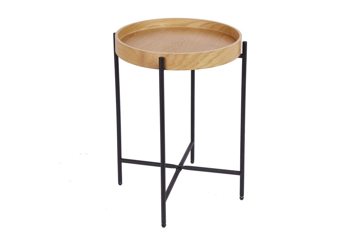 Odkládací stolek Factor 43 cm dub - II. třída