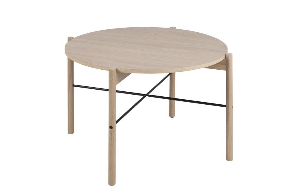 Kulatý konferenční stolek Abimael 80 cm