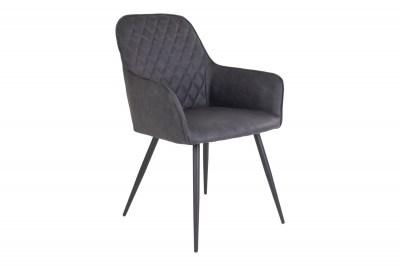 Designová jídelní židle Gracelyn, šedá