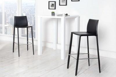 Moderní barová židle Neapol černá