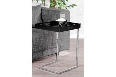 Dizajnový odkládací stolek Charlie Black