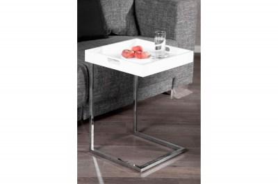 Dizajnový odkládací stolek Charlie White