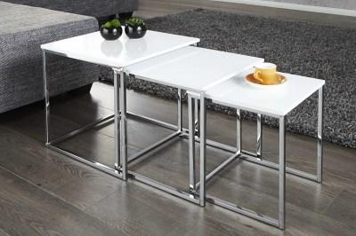 Dizajnový konferenční stolek 3-set Fiesta II