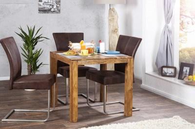 Luxusní jídelní stůl z masivu Las Palmas 80cm