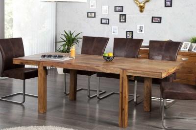 Luxusní jídelní stůl z masivu rozkládací 120-200cm Las Palmas