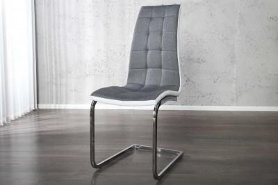 Moderní Jídelní židle Liverpool šedá