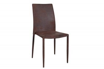 Designová stolička Neapol / antik hnědá
