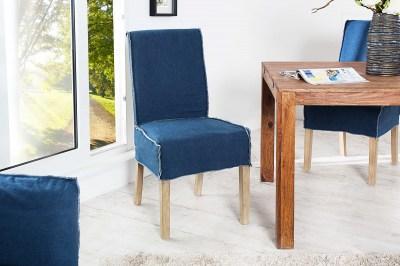 Moderní jídelná židle Passanger modrá