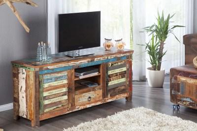Designový TV stolek Jacktar z masivu