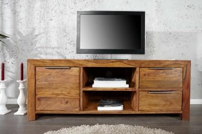 Luxusní TV stolek Las Palmas z masivu
