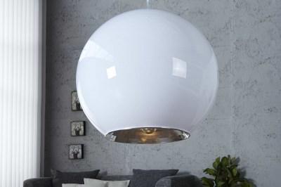 Designová závěsná lampa Sphere bílá