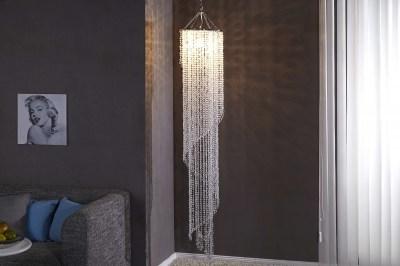 Luxusní závěsná lampa Crystal