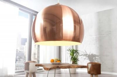 Designová lampa Fuzz měděná 30cm