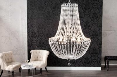Luxusní závěsný lustr s krystaly Majesty