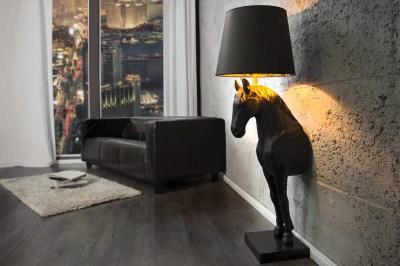 Luxusní stojací lampa Dark Pony