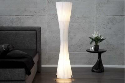 Designová stojanová lampa SPIRAL XXL bílá