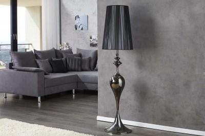 Designová stojanová lampa LUCY černá 160 cm