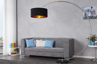 Stojanová lampa SNAKE černá zlatá