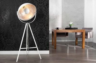 Designová stojanová lampa STAGE bílá