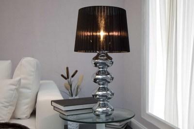 Designová stolní lampa Milly černá