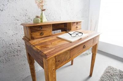 Luxusní rustikální psací stůl Ernest Honey