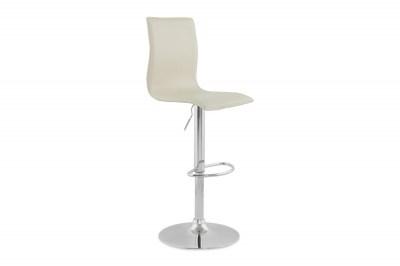 Designová barová židle Liam bílá