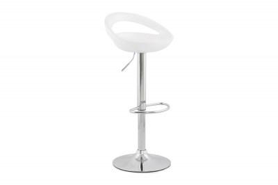 Designová barová židle Mason bílá