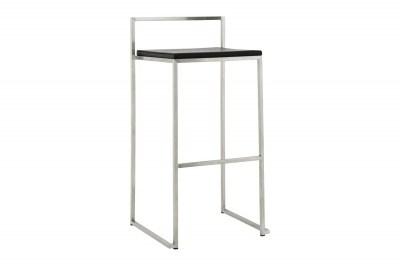 Designová barová židle Ethan černá