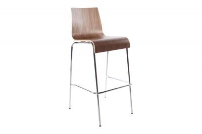 Moderní barová židle Aiden ořech