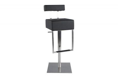 Moderní barová židle James černá