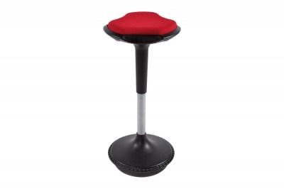 Moderní barová židle Caleb rudá