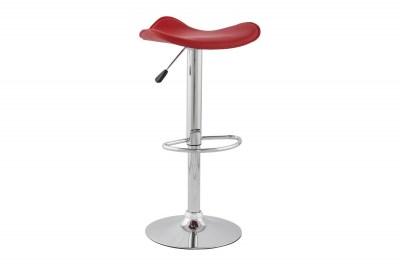 Moderní barová židle Connor rudá