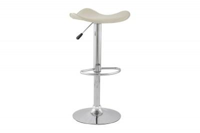 Moderní barová židle Connor krémová