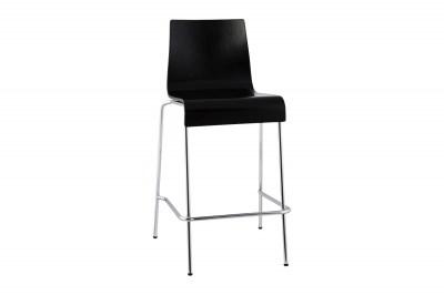 Moderní barová židle Henry černá