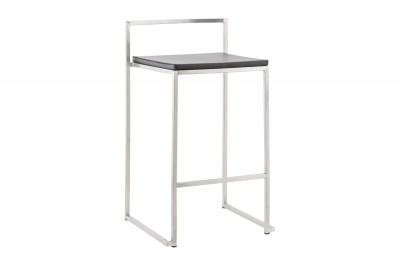 Moderní barová židle Owen černá