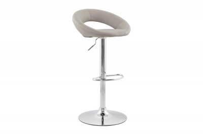 Moderní barová židle Dylan šedá
