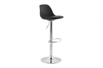 Moderní barová židle Landon černá