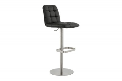 Moderní barová židle Nathan černá