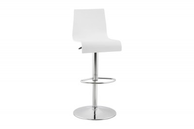 Moderní barová židle Cameron bílá