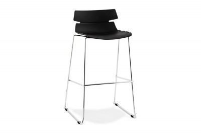 Moderní barová židle Brayden černá