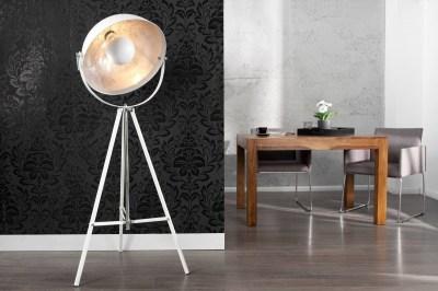 Designová stojanová lampa Atelier 160cm bílá