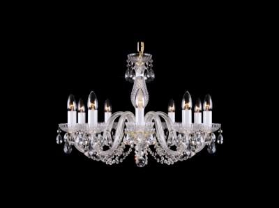 Křišťálový lustr Classic R10 bohemia skleněný