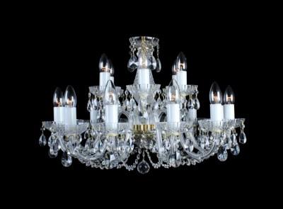 Křišťálový lustr Classic R18 Bohemia skleněný