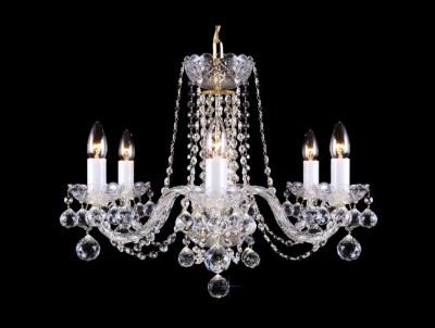 Křišťálový lustr Premium R6-4 Bohemia skleněný