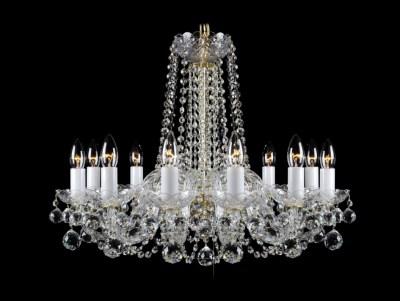 Křišťálový lustr Premium R12-4 Bohemia skleněný