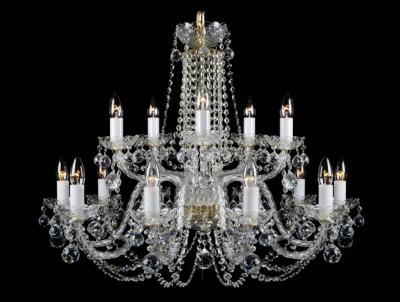 Křišťálový lustr Premium R15-4 Bohemia skleněný