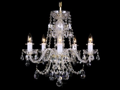 Křišťálový lustr Grande R5 Bohemia skleněný